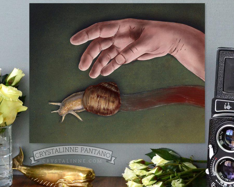 SnailHandDeathByCrystalinnePantano